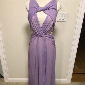 Badgley Mischka Collection purple gown, size 6